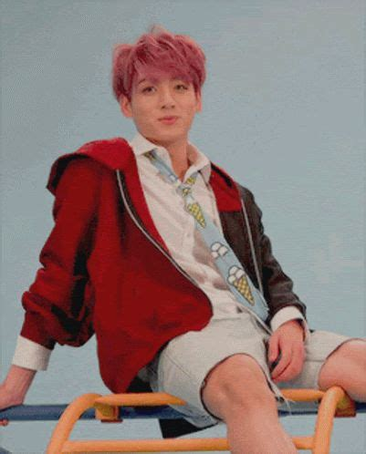 keren  foto jungkook red hair jungkook red hair gif