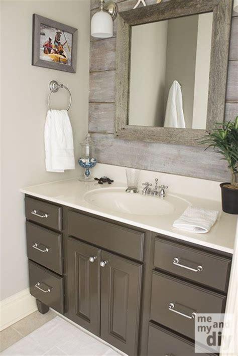 Gray Paint Colors For Bathrooms by Benjamin Thunder Gray Bathroom Vanity Valspar S