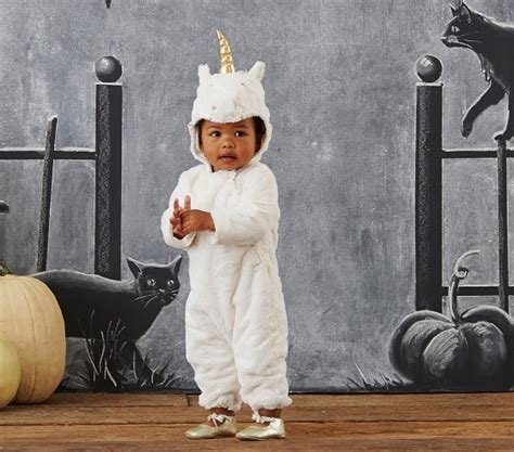 pottery barn costumes baby unicorn costume pottery barn