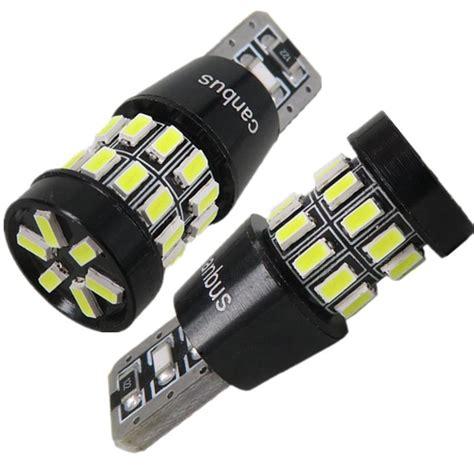 2x led canbus t10 w5w 3014 smd l 12v car light parking
