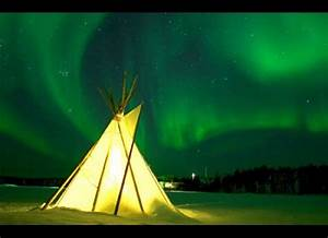 Yellowknife Northern Lights Teepee Peterborough Light Pillars Are The Cold 39 S Prettiest Gift