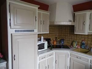 repeindre une cuisine en chene vernis farqna With repeindre une cuisine en chene vernis