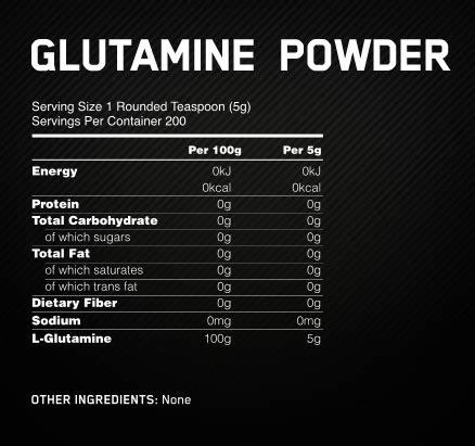 Glutamine Before Bed by Glutamine Powder Optimum Nutrition Uk