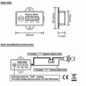 Golf Cart Battery Meter Wiring Diagram