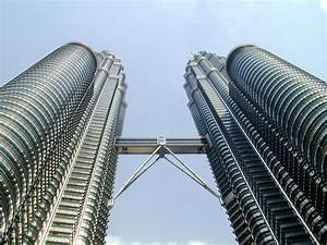 Architecture buildings Malaysia Petronas Towers Kuala ...