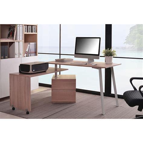 sixbros bureau informatique sixbros bureau informatique meuble de bureau aspect chêne