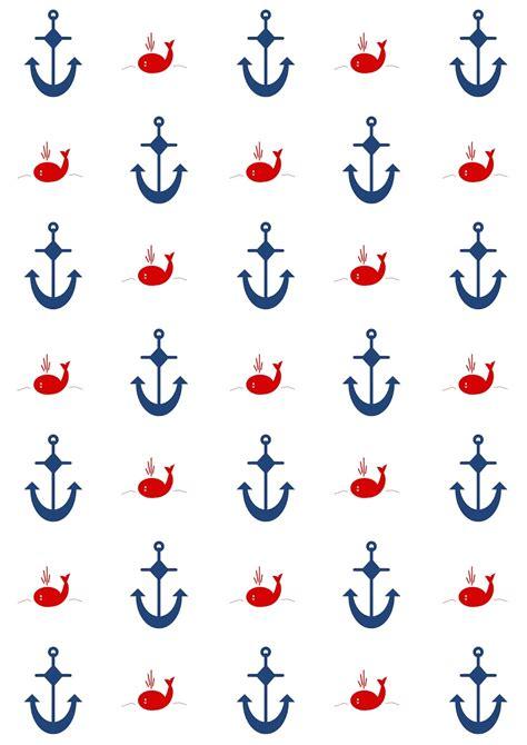 digital nautical scrapbooking papers ausdruckbares