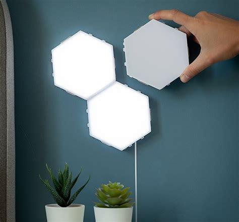 Modulāru magnētisko pieskāriena LED paneļu lampu komplekts ...