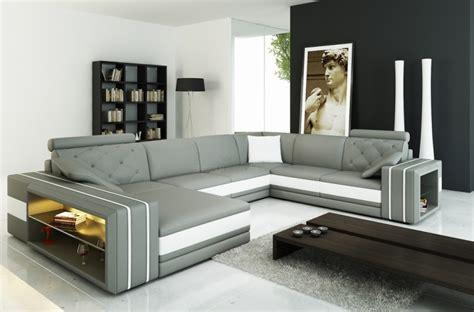canape italien contemporain les concepteurs artistiques canape cuir blanc design italien