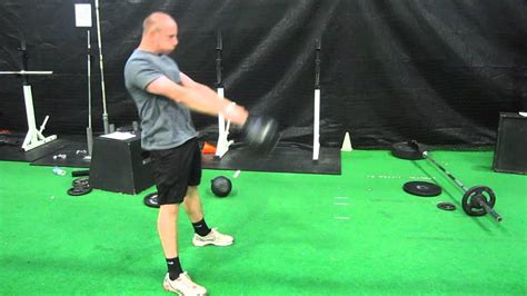 kettlebell heavy swing