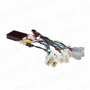 Iso Wiring Harness Jbl Decorder For Xtrons Toyota Unit