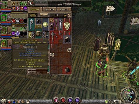 dungeon siege 2 items dungeon siege ii screenshots for windows mobygames