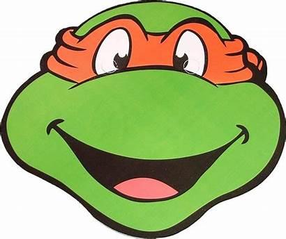 Ninja Turtle Turtles Face Clipart Teenage Mutant