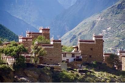 Danba Tibet Kham Village Tibetpedia Chinese