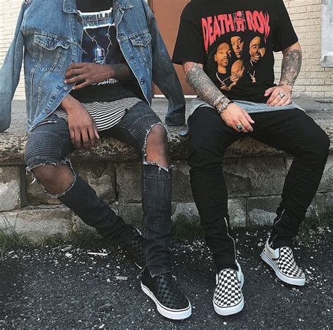 14 best Vans Checkerboard Outfits images by On Point Fresh on Pinterest | Street fashion Vans ...