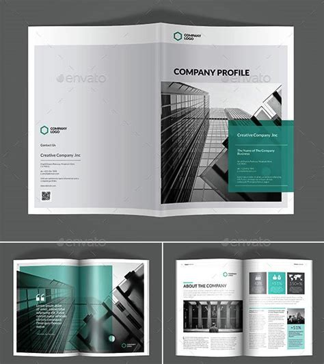 company profile design templates   premium