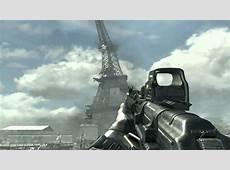 Call Of Duty Modern Warfare 3 Eiffel Tower Falling Down