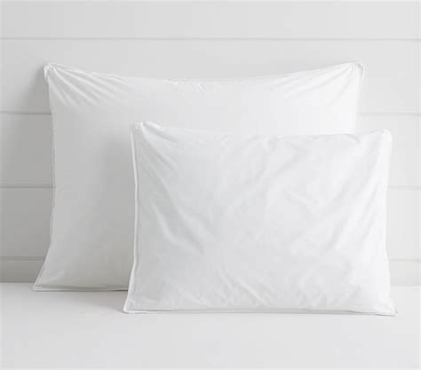 quallowarm hypoallergenic down pillow inserts pottery