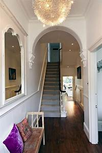 When, Your, Hallway, Has, Striking, Period, Features, Let, It, Do, The, Talking, By, Keeping, Walls, Bare, And