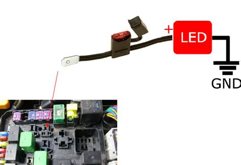 Light Switch Fuse Box by Diagram For Led Daytime Running Lights Finding Acc 12v Power