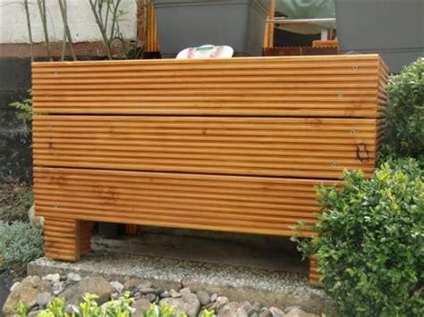 loungemöbel holz outdoor blumenk 252 bel holz selber bauen einen pflanzk bel aus douglasie holz selber bauen diy blumenk