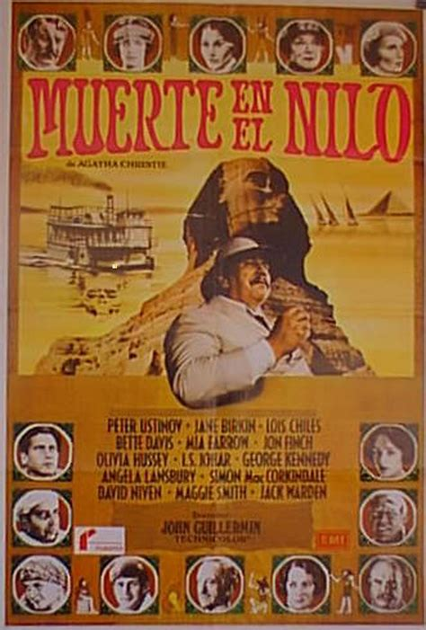 """muerte En El Nilo"" Movie Poster  ""death On The Nile"
