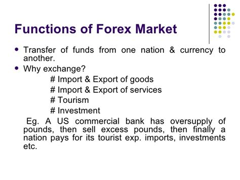 foreign exchange market trading the foreign exchange market