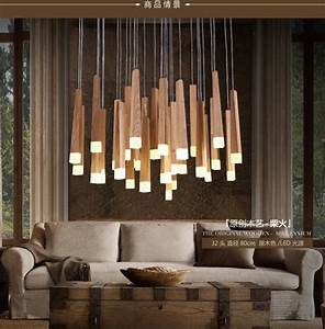 American, Country, Style, Pendant, Lights, Wood, Pendant, Lamps, Led, Warm, Lighting, Fixtures, For, Home