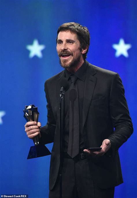 Critics Choice Awards Christian Bale Accent Continues