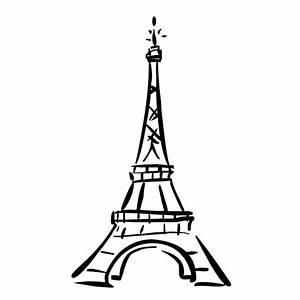Eiffel Tower Cute Cartoon - ClipArt Best