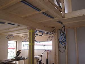 Elektroinstallation Im Haus : holzhaus wir bauen ein haus aus holz elektroinstallation ~ Lizthompson.info Haus und Dekorationen