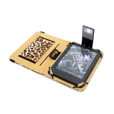 kindle touch cover with light leopard print kindle touch case with slim led light