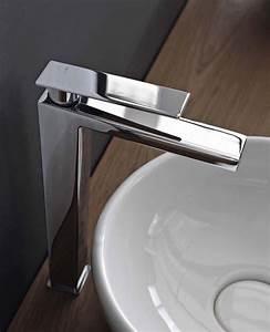 zazzeri toscano mitigeur haut pour vasque a poser chrome With robinet haut pour vasque a poser