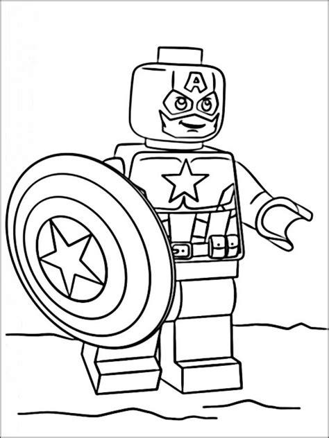 Lego Kleurplaat Printen by Lego Marvel Heroes Kleurplaat Printen 7