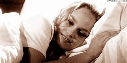 Vanessa Paradis Pillow Bed Gifs Giphy Smiling