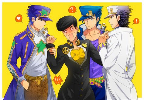 Which Would You Choose Josuke And Jotaro Fujojoshi