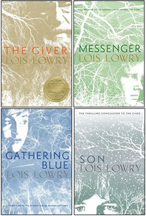giver quartet  lois lowry reviews discussion