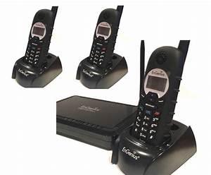 Téléphone Sans Fil Longue Portée : engenius ep902 trio t l phone longue port e 2 lignes 3 combin s ~ Medecine-chirurgie-esthetiques.com Avis de Voitures