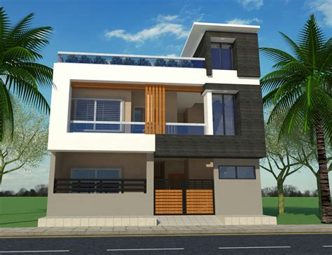 G+1 Home Design In Ethiopia : G+1 House Front Elevation