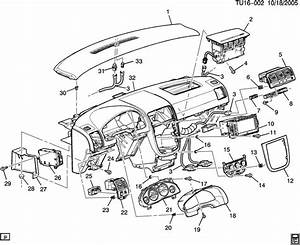 Chevrolet Uplander Instrument Panel  U0026 Related Parts Part 3