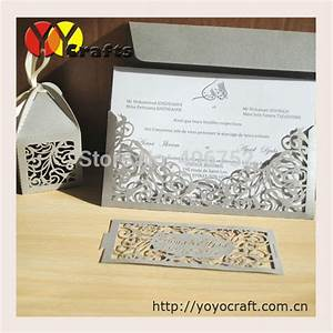 aliexpresscom buy 50pcs vintage lace design sleeve With lace cover wedding invitations