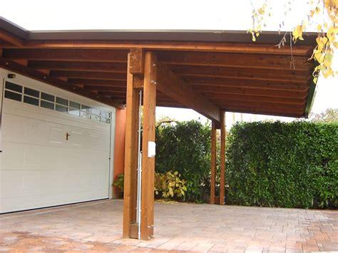 costruire tettoia legno auto tettoie in legno verona porticati in legno provincia