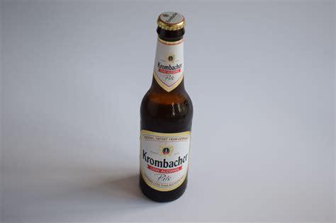 Krombacher 'Low-Alcohol Pils' Review - Low-Alcohol (0.5% ...