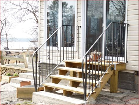 Unique Outdoor Metal Stair Railing #8 Wrought Iron Outdoor