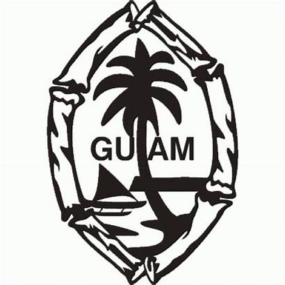 Guam Clipart Seal Chamorro Coloring Clipground Sketch