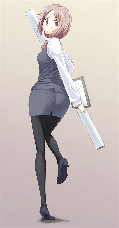 office lady outfit page    zerochan anime image board