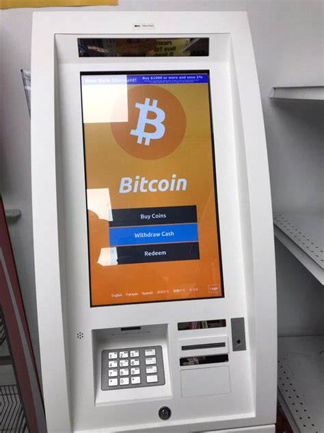 With a bitcoin atm, your cash is exchanged for bitcoin, which is deposited directly into your own bitcoin wallet. Will Bitcoin ATMs And Credit Cards Dominate In The Future?