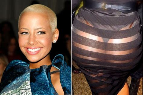 Kiss It Amber Rose Bares Entire Bum In Tiny Thong And See Through Skirt Kim Who Mirror