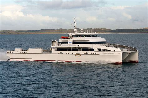 Fast Catamaran Boats by Incat Crowther Designs Second 70m Catamaran Fast Crew Boat