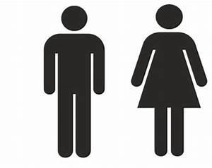 Women restroom sign etsy for Men and women bathroom symbols